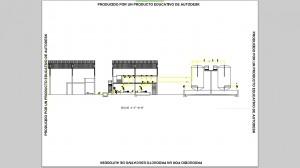 4. Plano sección edifico bombeo